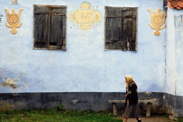 0028 Roumanie Maison saxonne Transylvanie ©bernard.houliat